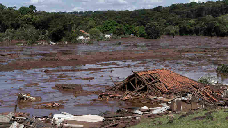 Dozens Dead, Hundreds Missing After Brazilian Mining Company's Dam Collapses