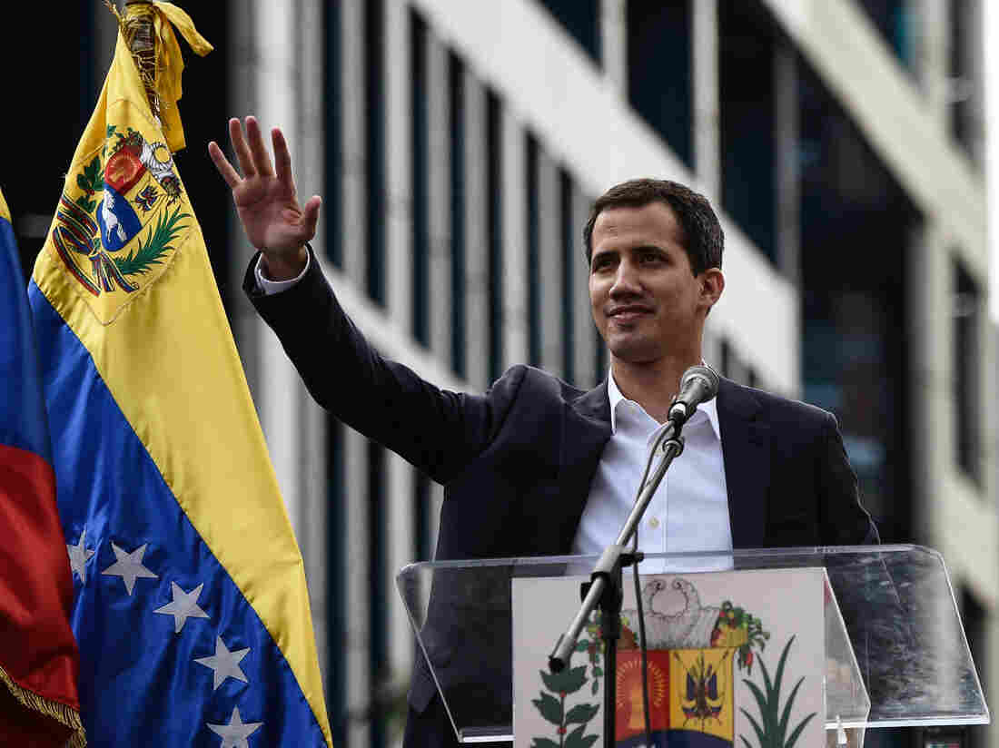 Guaido calls for more protests as Maduro displays military might
