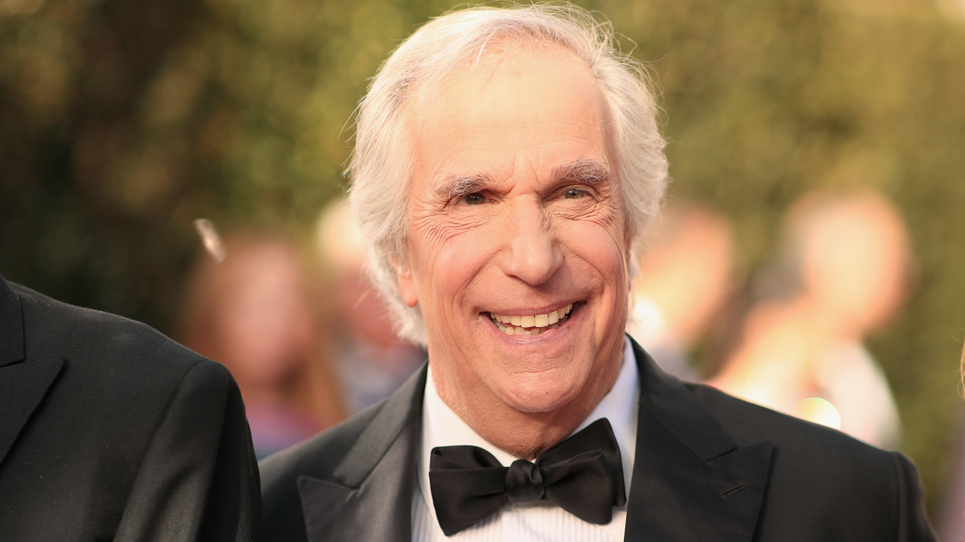 Dyslexia Made Henry Winkler Feel 'Stupid' For Years. Now, He's A Best-Selling Author