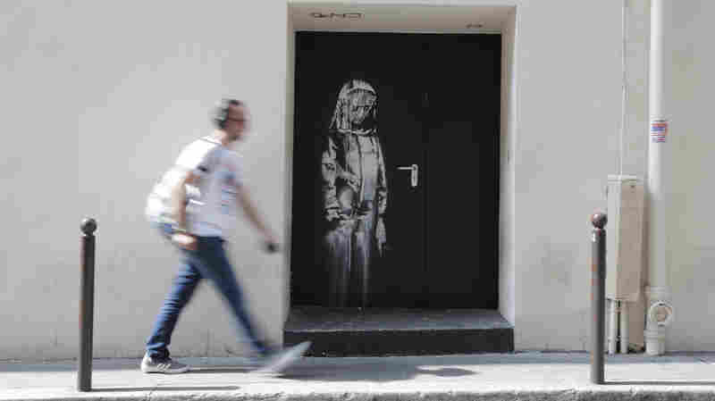 Mural Attributed To Banksy Stolen From Paris' Bataclan Concert Hall