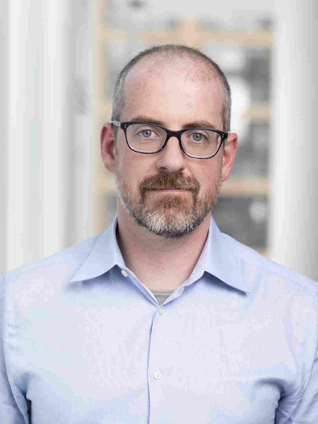 Geoff Brumfiel, photographed for NPR, 17 January 2019, in Washington DC.