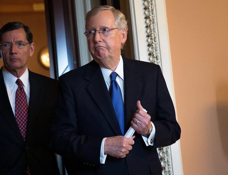Senate Republicans Rebuke President On Syria And Afghanistan
