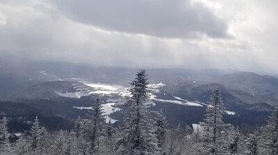 Winter Joy: Breaking Trail In 15 Degrees