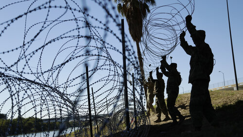 NPR: Pentagon deploying thosands of troops to southern border