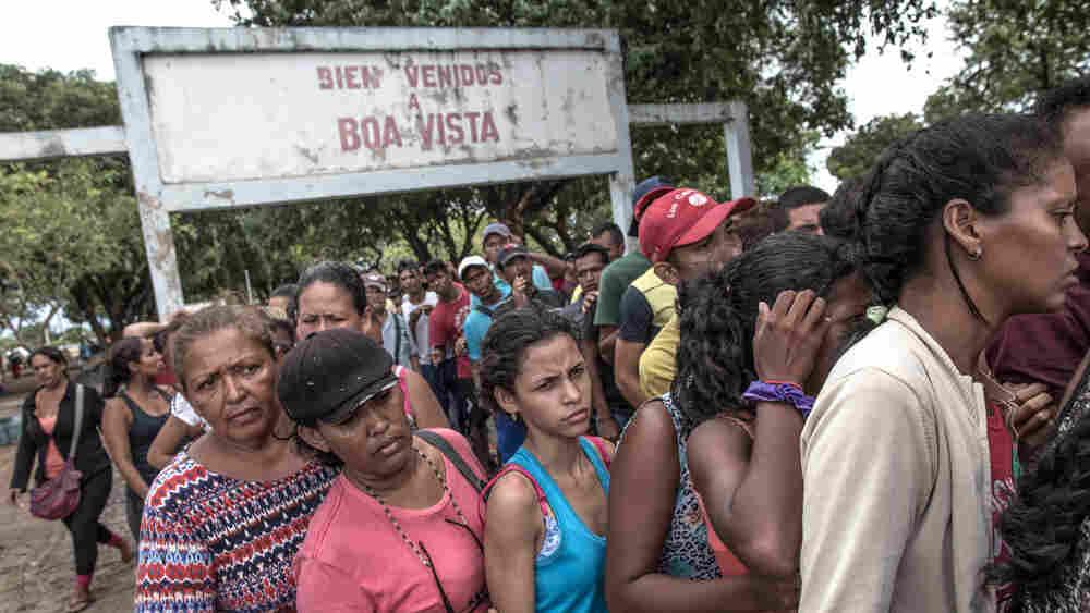 Collapse Of Health System Sends Venezuelans Fleeing To Brazil For Basic Meds