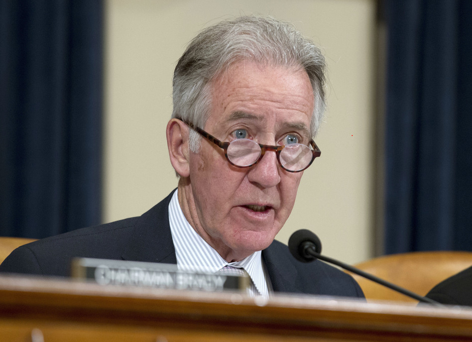 Rep. Richard Neal, D-Mass., chairman of the House Ways and Means Committee, will begin hearings this week on presidential tax returns. (Jose Luis Magana/AP)