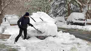 Widespread Western Snow Brings Dazzling Vistas And Dangerous Roads