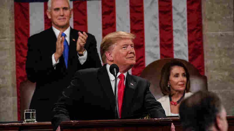 7 Takeaways From President Trump's State Of The Union Address