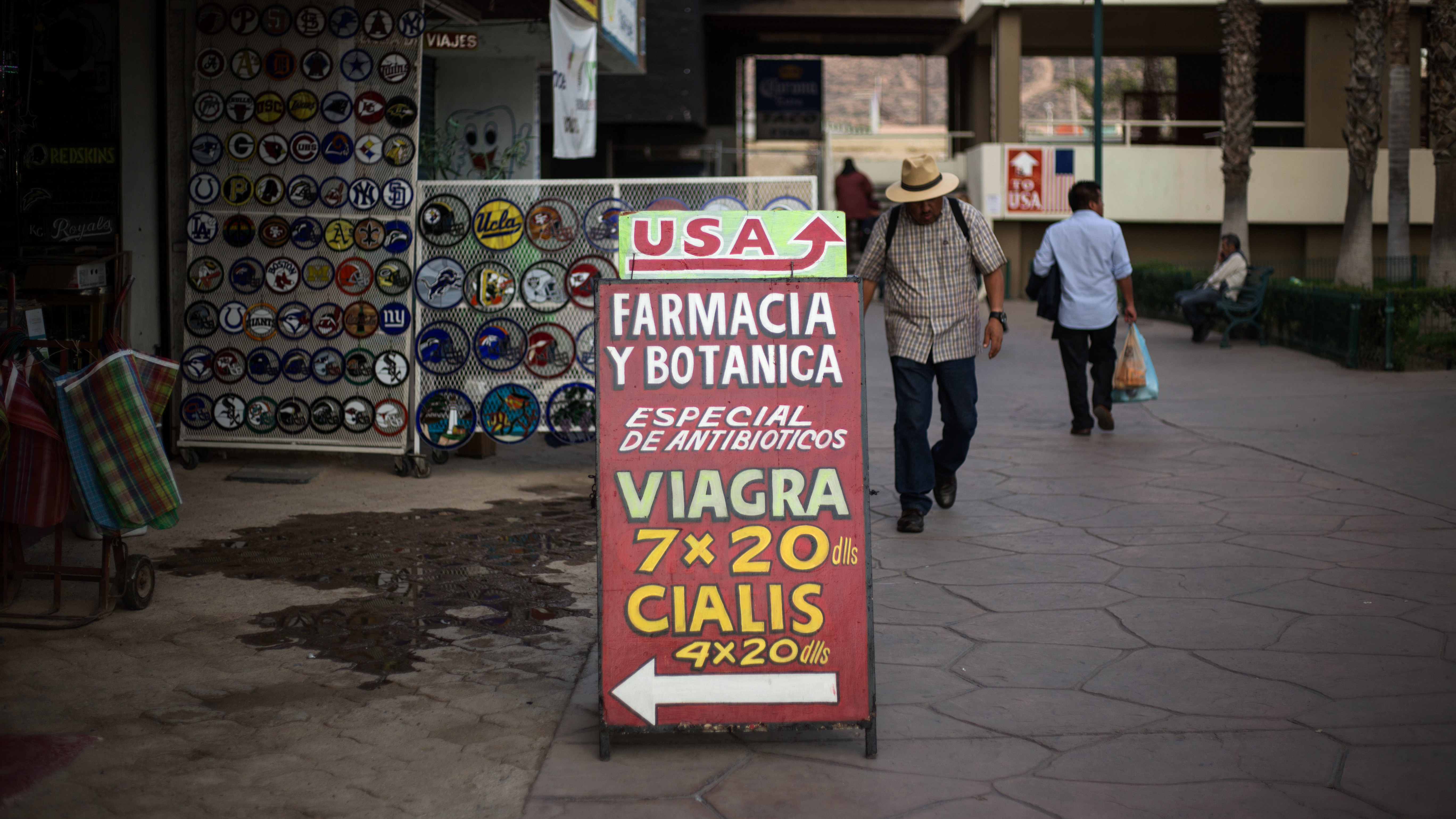 Image for American Travelers Seek Cheaper Prescription Drugs In Mexico And Beyond Article
