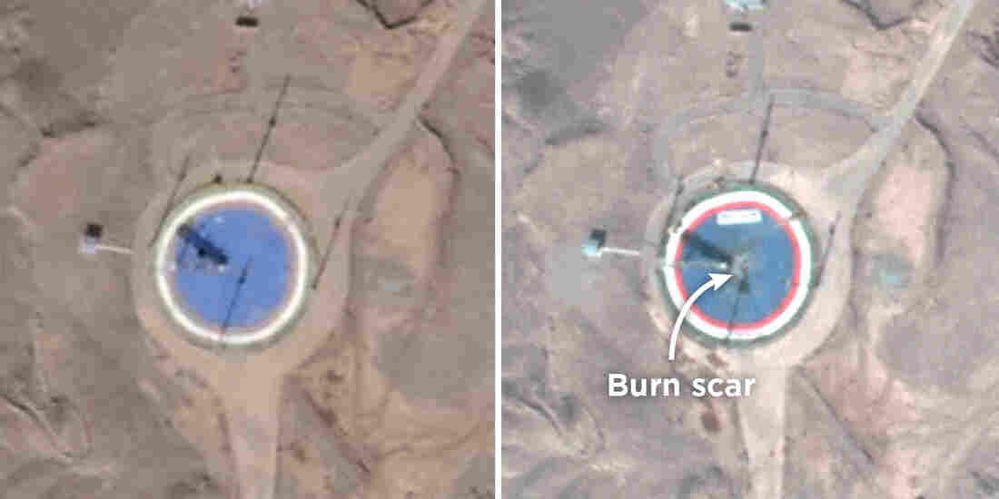 PHOTOS Show Iran's 'Attempt to Launch Satellite' Despite US Criticism
