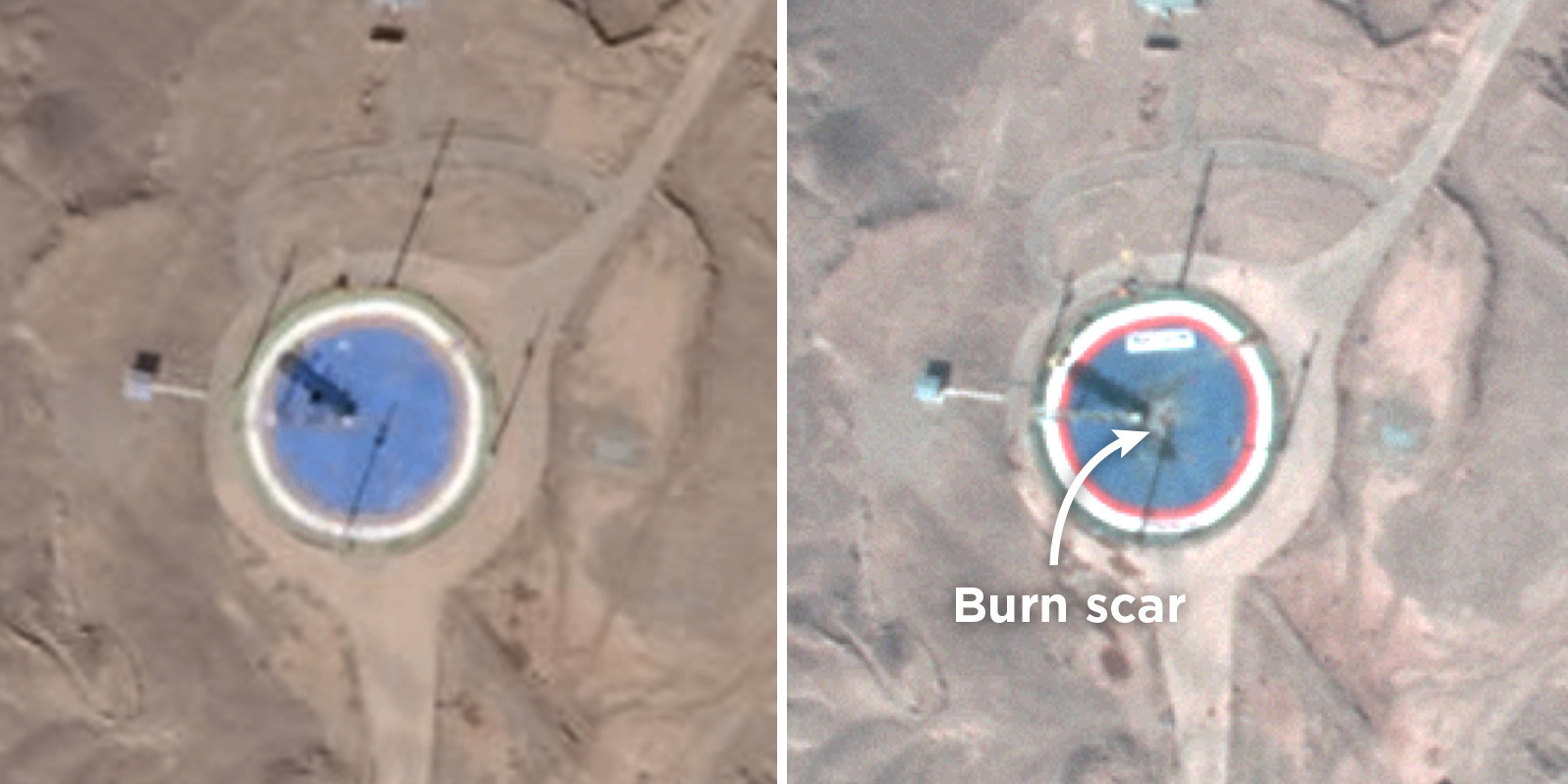 Satellite Imagery Suggests 2nd Iranian Space Launch Has Failed