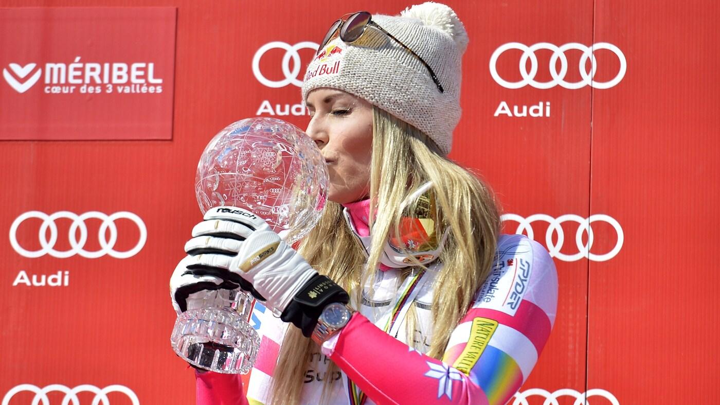 3a83a5b18e238a Lindsey Vonn Retires As The Winningest Female Skier In History : NPR