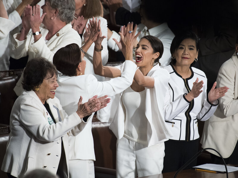 Image result for state of union white  cheering