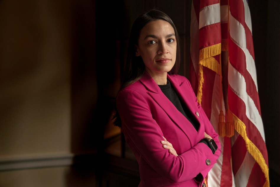 The Green New Deal legislation laid out by Rep. Alexandria Ocasio-Cortez and Sen. Ed Markey sets goals for some drastic measures to cut carbon emissions across the economy. In the process, it aims to create jobs and boost the economy. (Amr Alfiky/NPR)