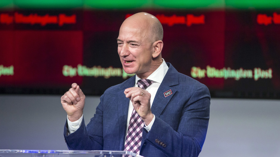 In purported emails posted online by <em>Washington Post</em> owner Jeff Bezos, executives for <em>National Enquirer</em> parent company AMI threaten to publish intimate photos of him if <em>The Post</em> publishes a story about the tabloid.