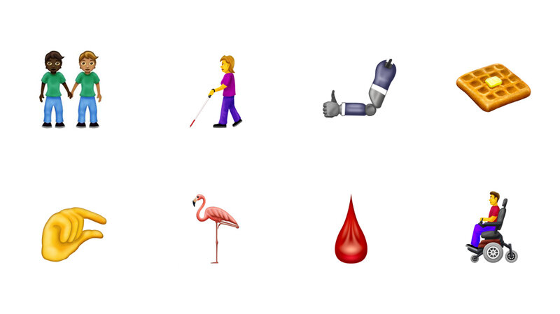New Emojis Coming: Wheelchairs, Canes, Interracial Couples : NPR
