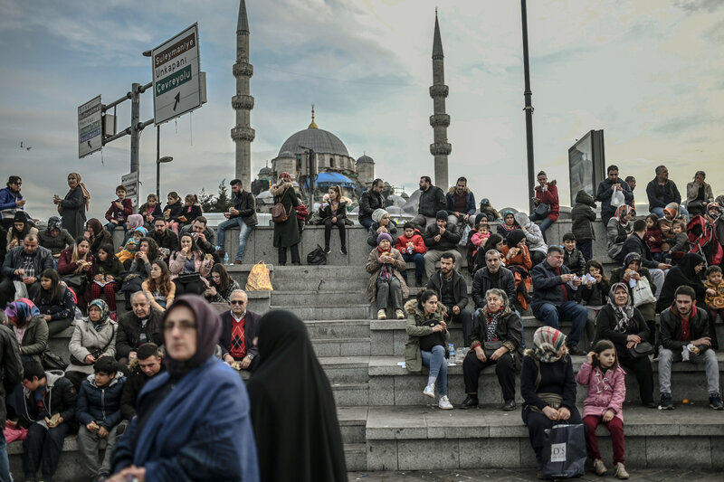 Majority-Muslim Turkey Becomes Less Religious, Poll Says : NPR