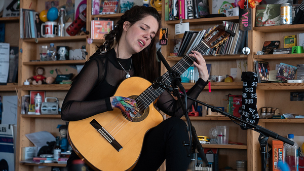 Lau Noah performs a Tiny Desk Concert on Jan. 10, 2019 (Amr Alfiky/NPR).