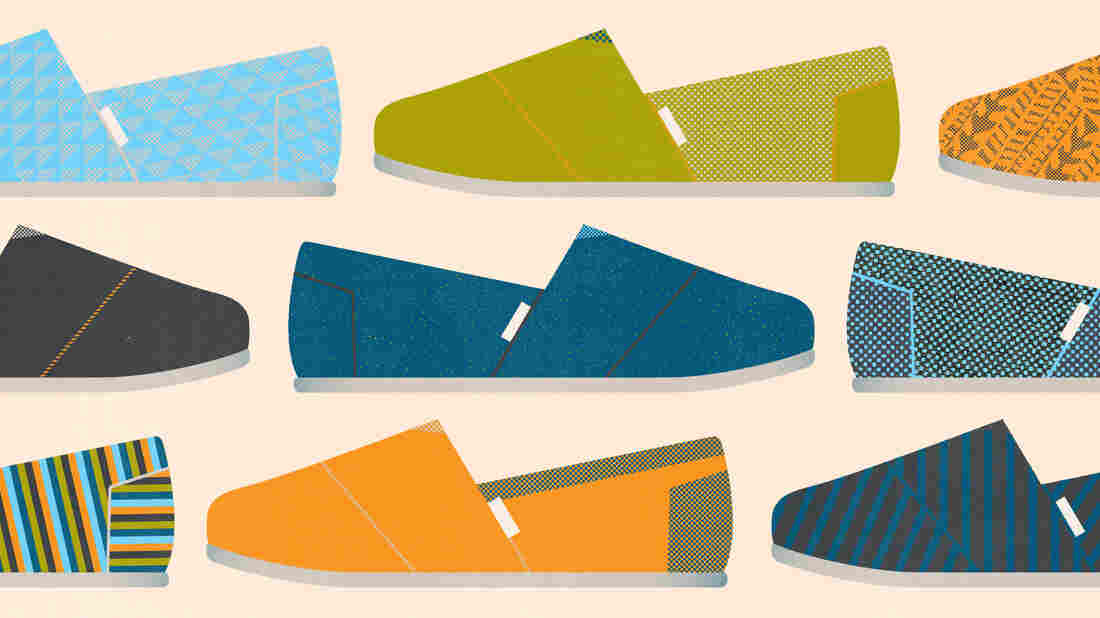 "Blake Mycoskie has made the ""buy one, give one"" model part of TOMS' success story."