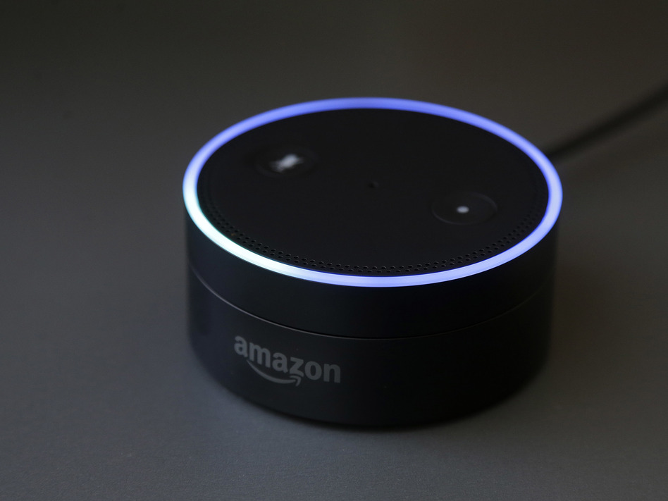 Gizmodo's Kashmir Hill tried to disconnect from all Amazon products, including smart speakers, as part of a bigger experiment in living without the major tech players. (Jeff Chiu/AP)