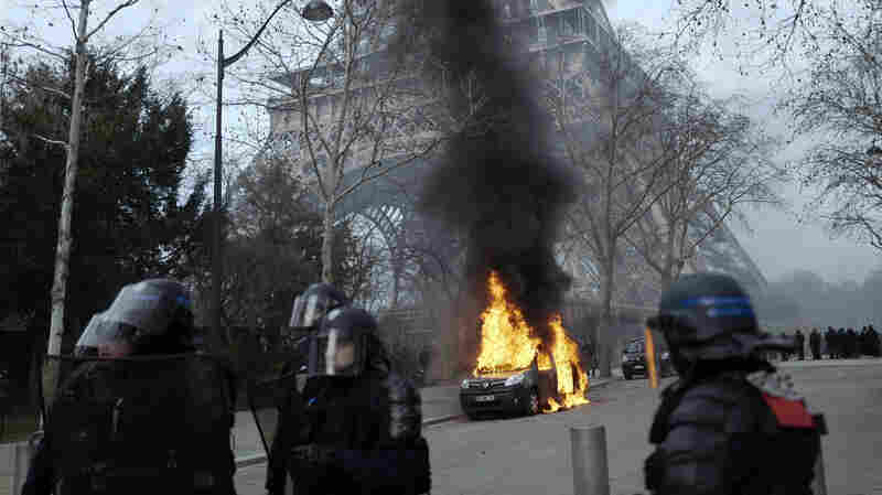 Yellow Vest Unrest Leaves Protester Severely Injured In Paris
