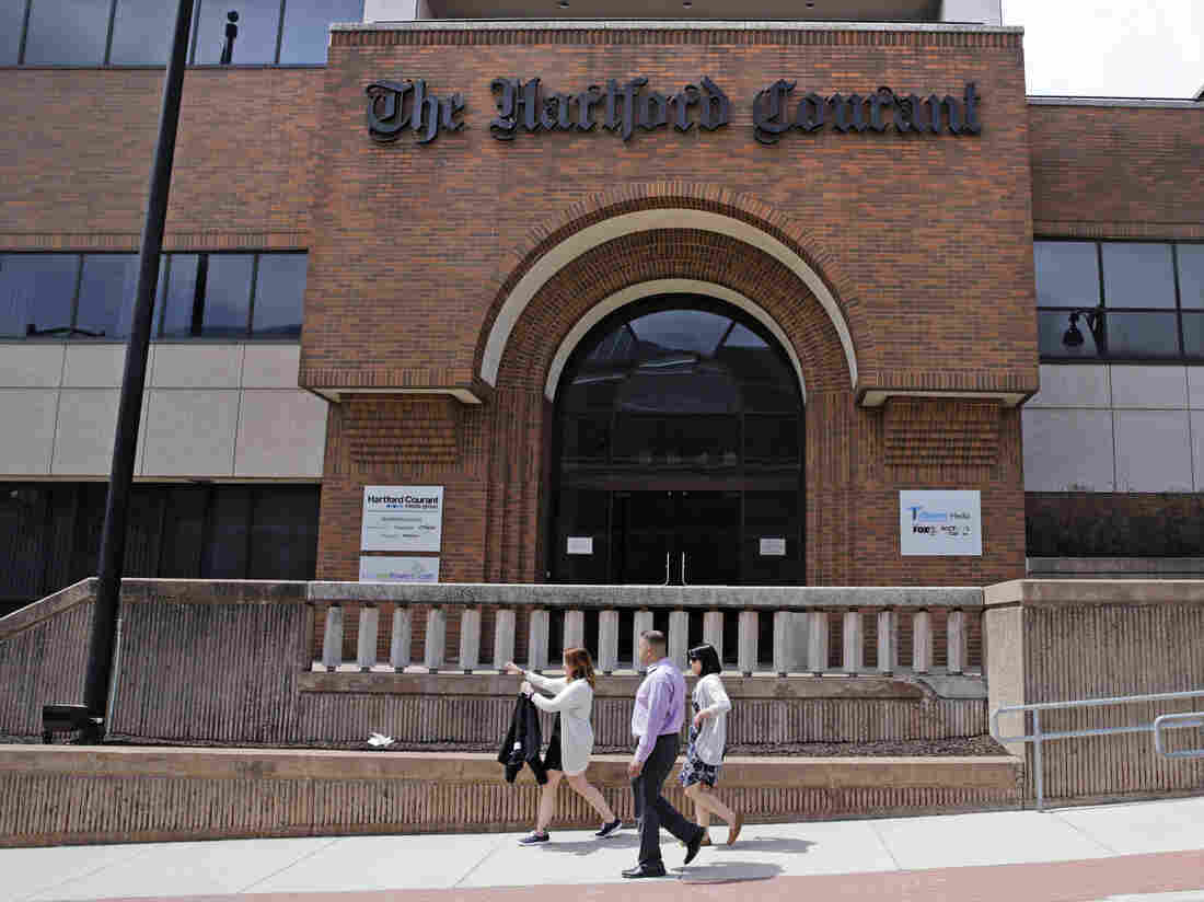 'Hartford Courant' Journalists Petition To Unionize - NPR