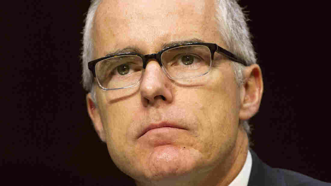 Ex-FBI No. 2 official Andrew McCabe sues over his firing