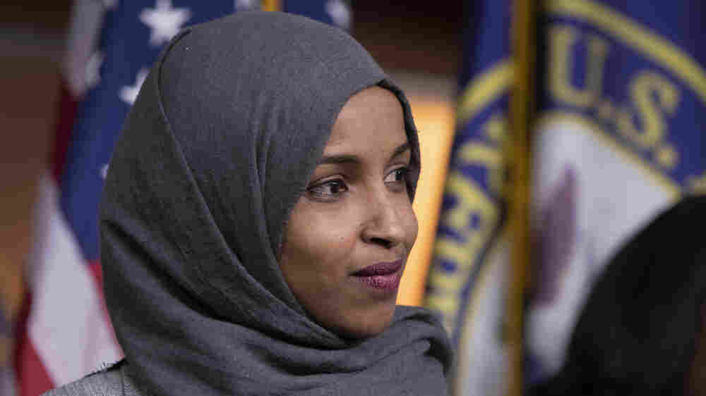 Rep. Ilhan Omar Apologizes 'Unequivocally' For Remarks Condemned As Anti-Semitic