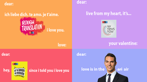 Will You Be Our Valentine? Love, NPR