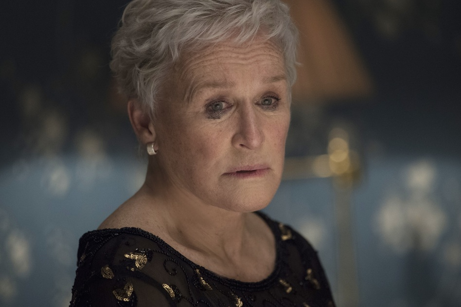 Glenn Close plays Joan, the titular wife in <em>The Wife. </em>The role has earned her an Academy Award nomination for best actress. (Graeme Hunter/Courtesy of Sony Pictures Classics)