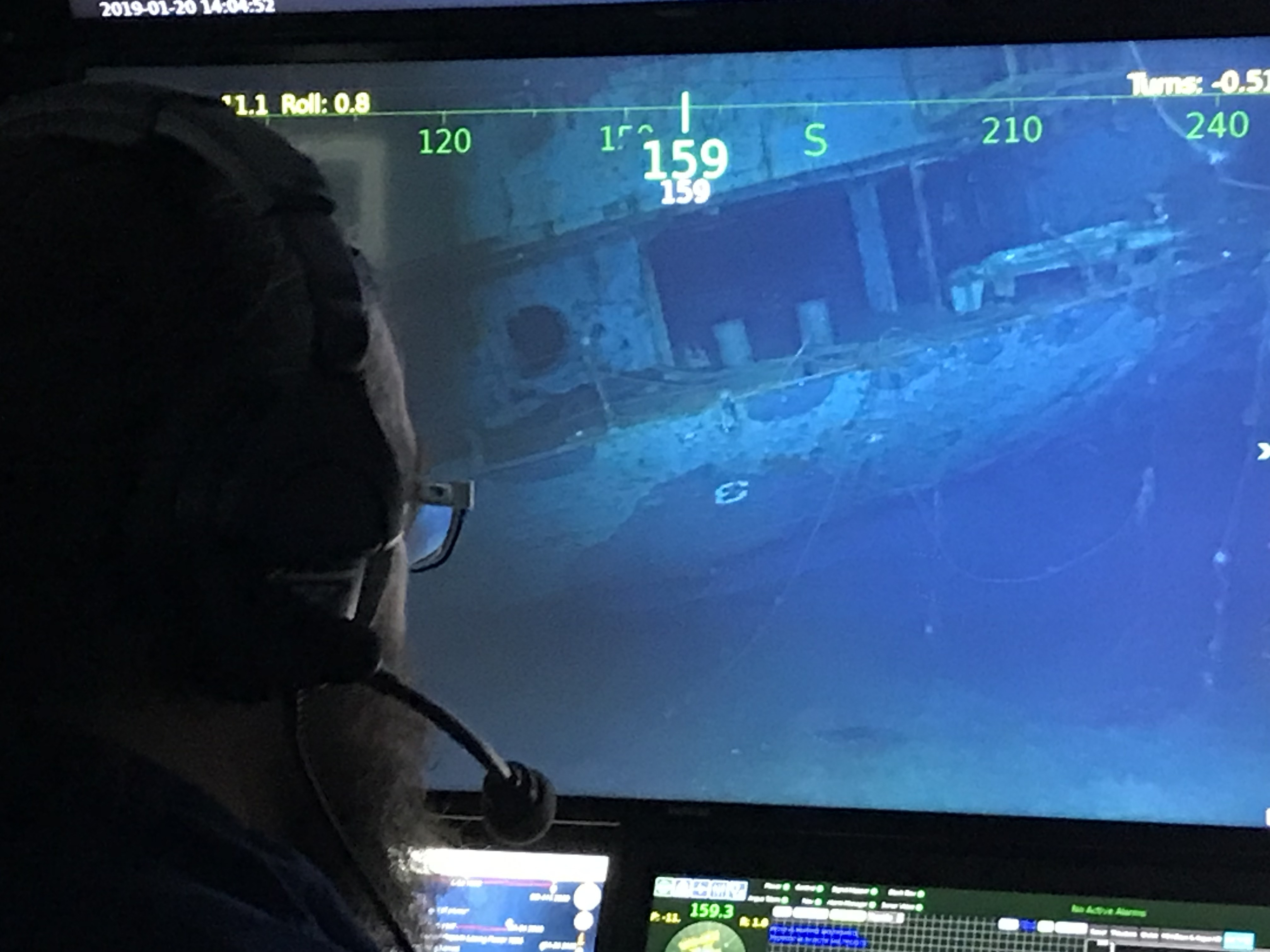 Wreckage Of WWII Aircraft Carrier Found In The South Pacific Ocean