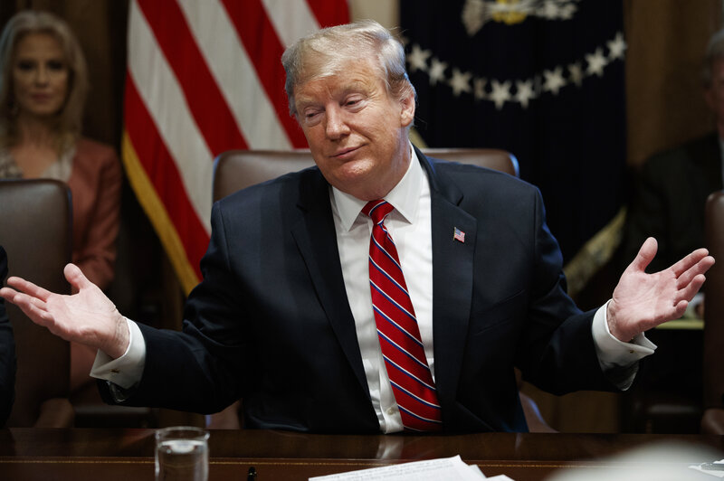Trump Says Hes Not Happy With Budget Deal But Thinks Shutdown