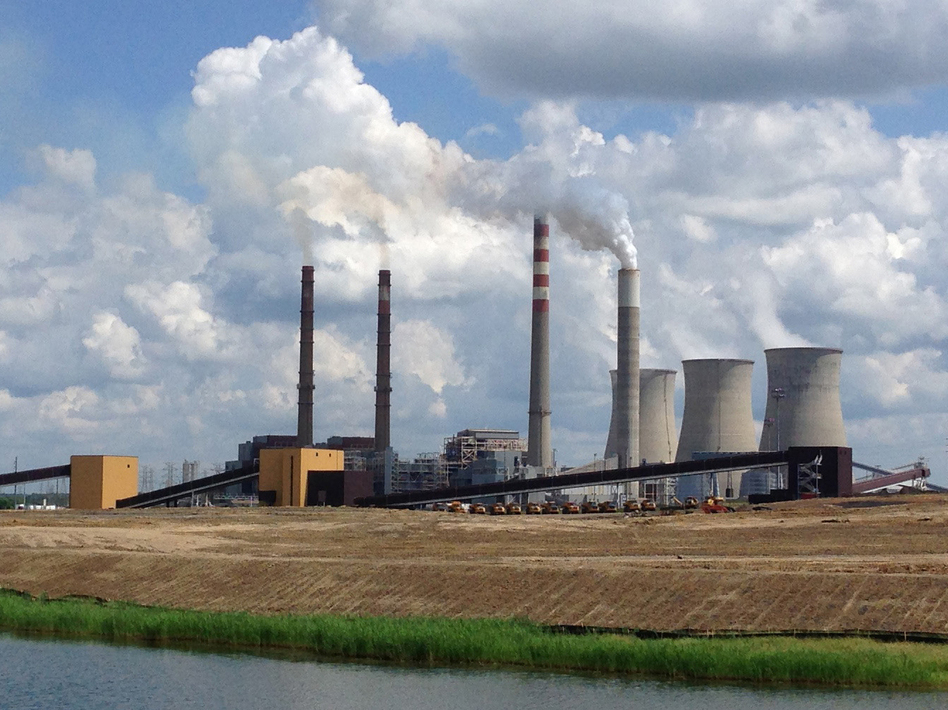 President Trump is pressuring the Tennessee Valley Authority not to close a coal-fired power plant at its Paradise Fossil Plant in Kentucky. (Dylan Lovan/AP)