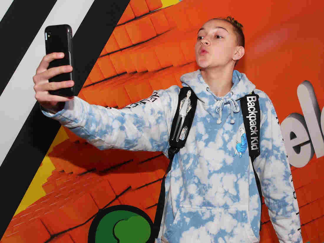 INGLEWOOD, CA - MARCH 24: Russell 'Backpack Kid' Horning attends Nickelodeon's 2018 Kids' Choice Awards at The Forum on March 24, 2018 in Inglewood, California. (Photo by Christopher Polk/Getty Images)