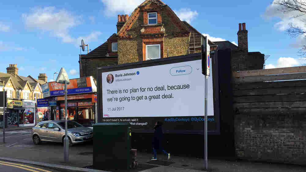 As Brexit Deadline Looms, Billboards Call Out Politicians' 'Quick And Easy' Claims