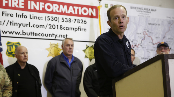 Brock Long is stepping down from his post as head of the Federal Emergency Management Agency.
