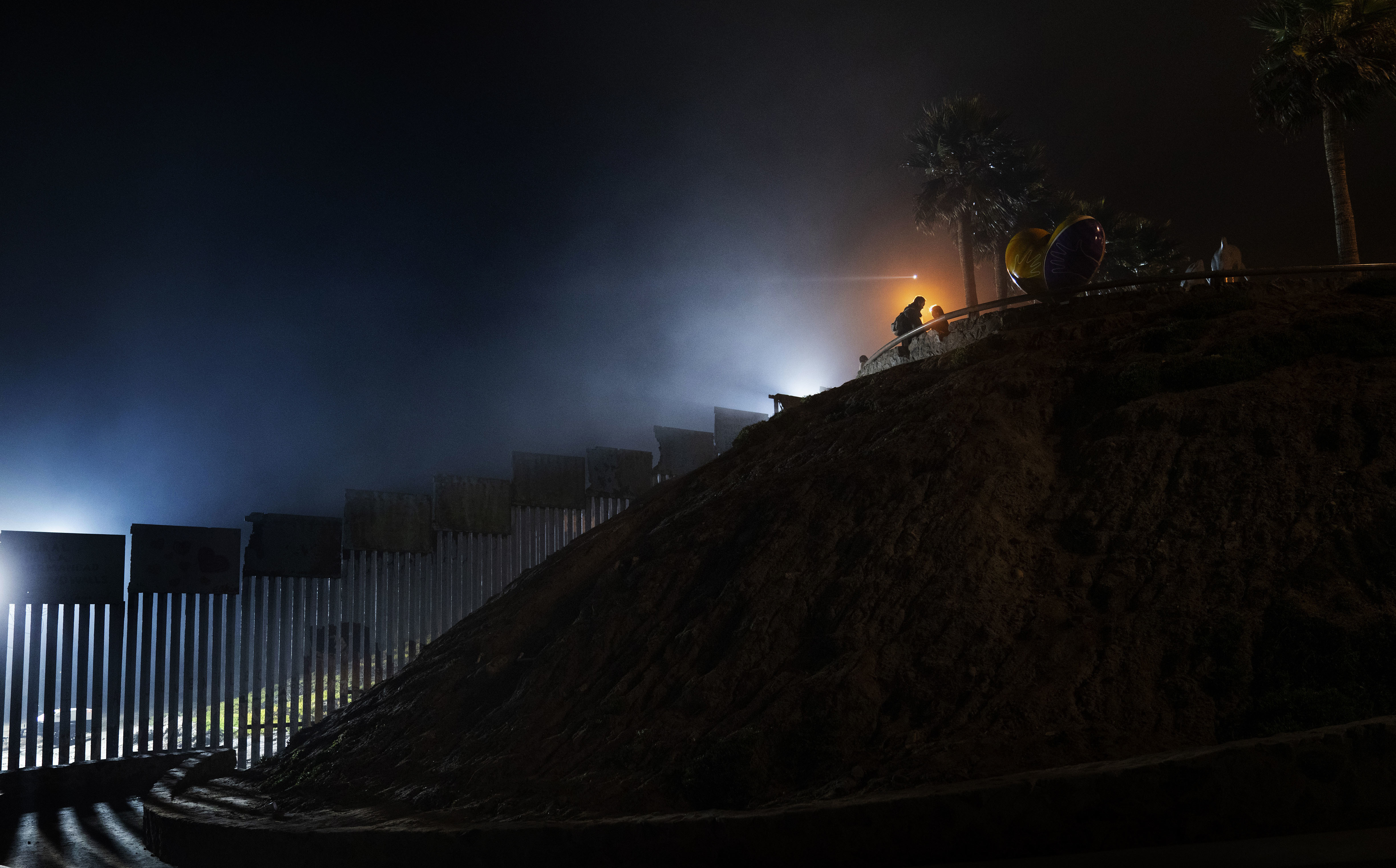 Bipartisan lawmakers agreed to a spending deal to provide more federal resources for border security, including for physical barriers along the U.S.-Mexico border, similar to the one  pictured in Tijuana, Mexico.