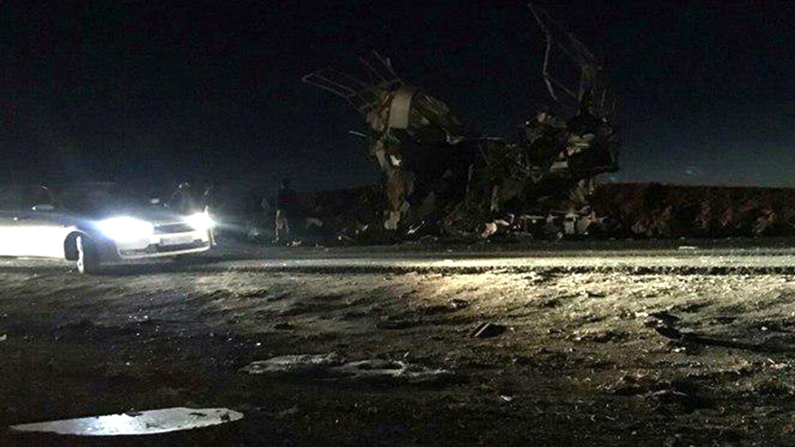 2 Dozen Iranian Revolutionary Guards Reportedly Killed In Bomb Attack thumbnail