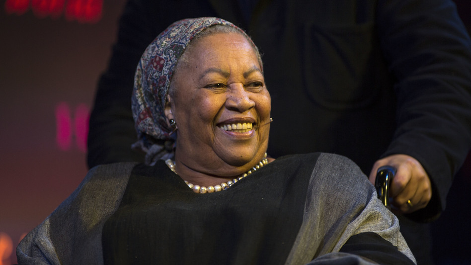 Toni Morrison, Nobel prize winning novelist, at the Hay Festival on May 27, 2014 in Hay-on-Wye, Wales.