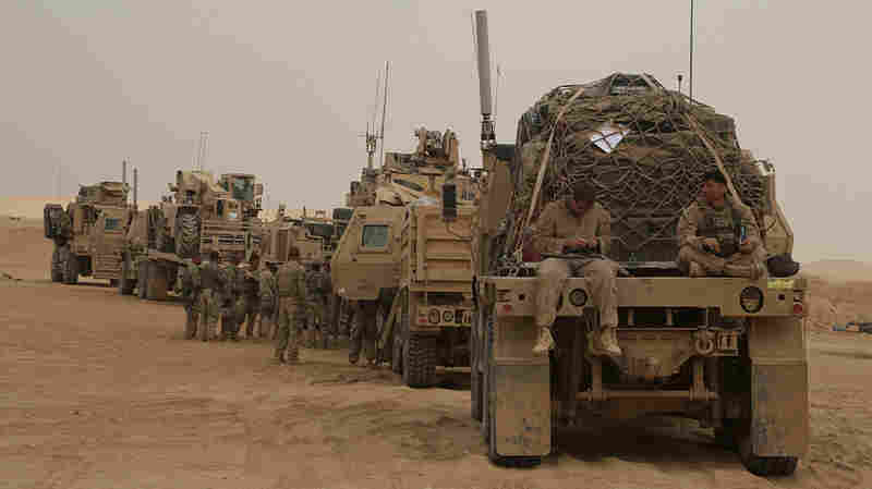 Trump Wants To Use Iraqi Base To Watch Iran. Now Iraqi Parties Want U.S. Forces Out