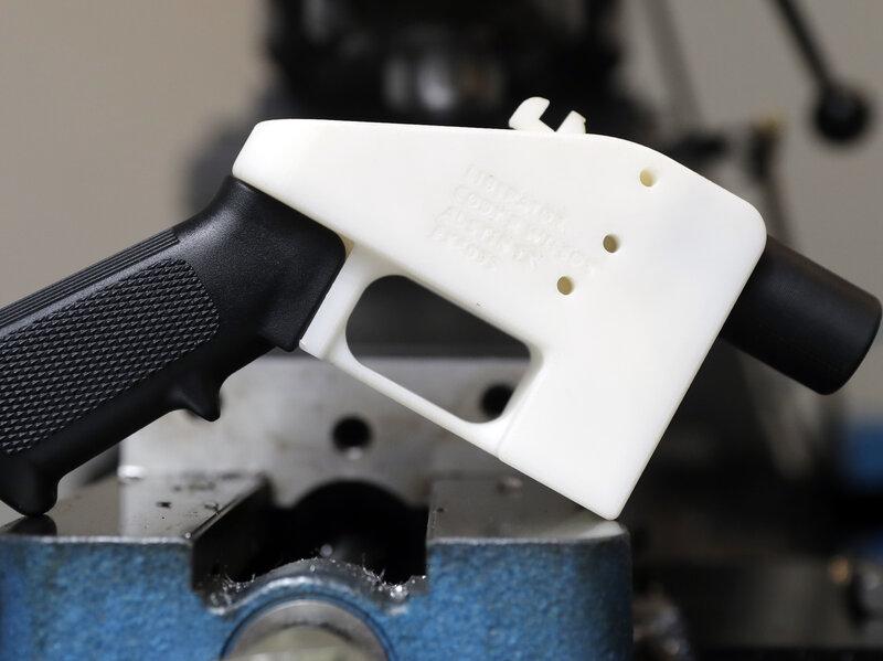 3D-Printed Gun Maker Sentenced To 8 Years In Prison : NPR