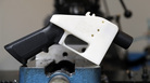 A 3D-printed gun called the Liberator. A man was sentenced to eight years in prison Wednesday for violating a court order after he printed his own 3D gun.