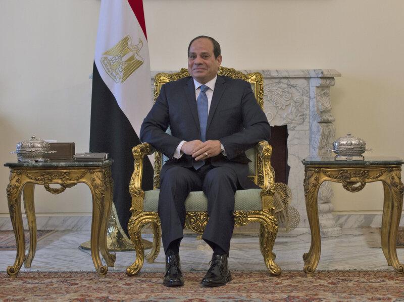 Αποτέλεσμα εικόνας για president of egypt 2019