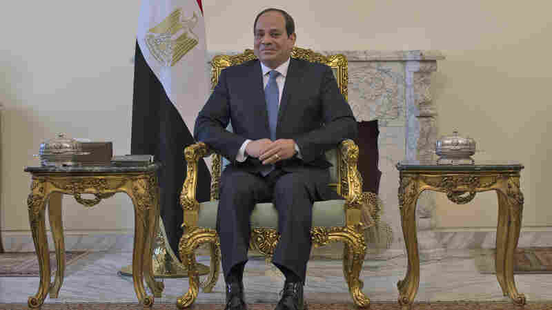 With Constitution Changes, Egypt's President Could Stay In Power Until 2034