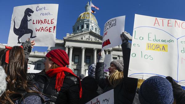 Denver Teachers Reach Tentative Deal To End Walkout