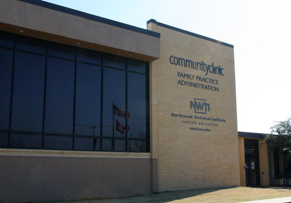 Community Clinic serves 37,000 low-income patients in northwest Arkansas at 13 locations, such as this one in Springdale. A Community Clinic insurance enrollment specialist says he's seen firsthand the difficulties people have had trying to comply with the state's new Medicaid work rule.
