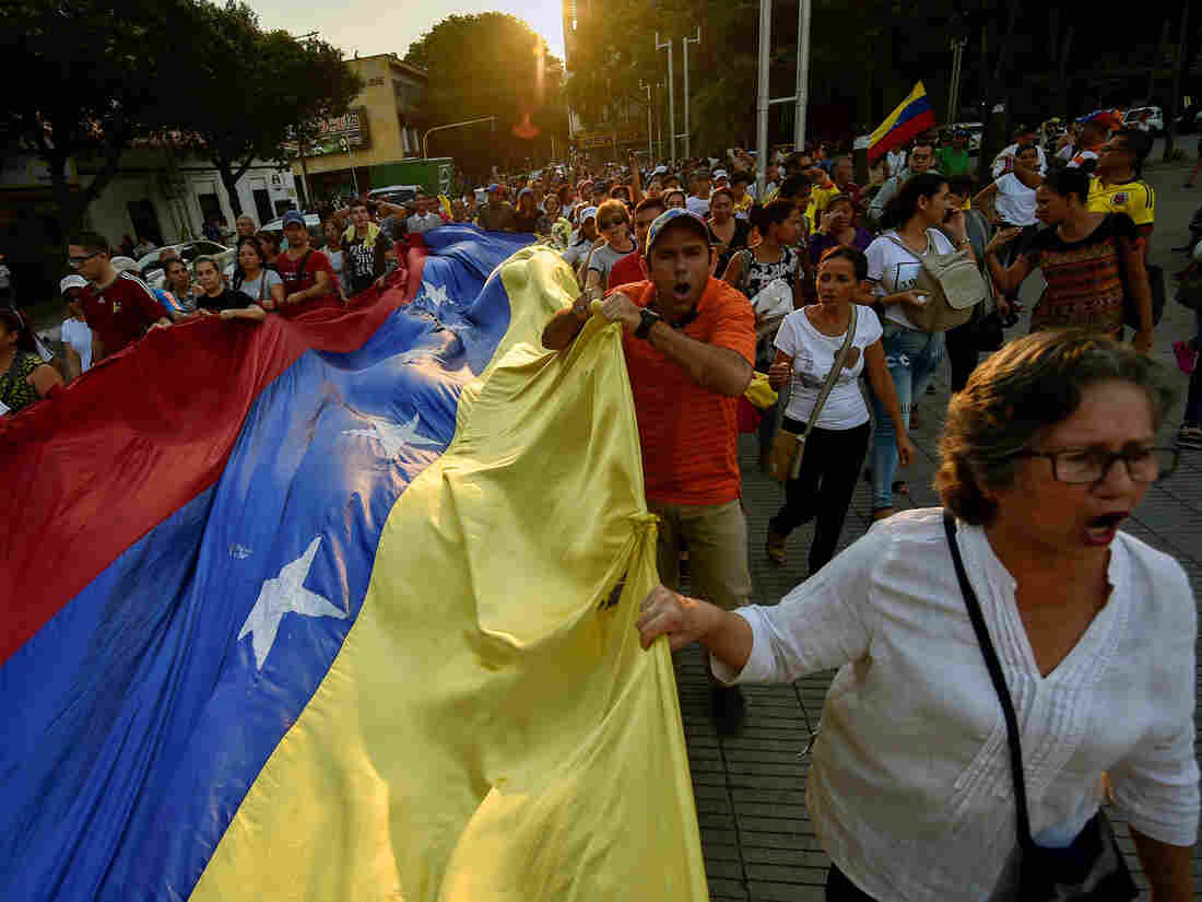 Venezuela opposition slams raid of NGO that supports humanitarian aid