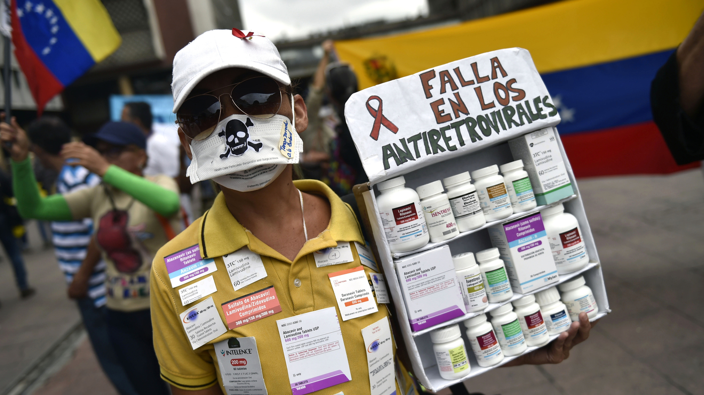 Health Crisis in Venezuela Hits The Rest of Latin America Hard : Goats and Soda : NPR