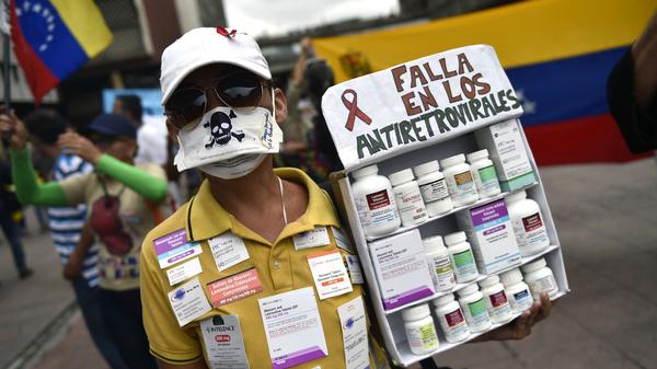 Venezuela s Health Crisis Spills Over To Neighboring Countries