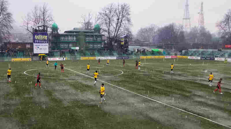 Against The Odds, A Pro Soccer Team In Kashmir Is Close To Winning India's Top Title